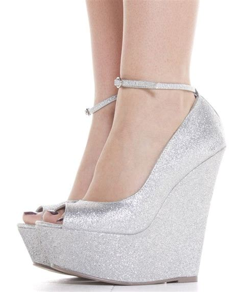 silver wedding shoes wedges silver wedges wedding shoes height comfort and bling