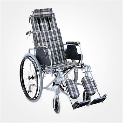 Reclining Wheel Chair by Light Weight Reclining Wheelchair High Back Humancare