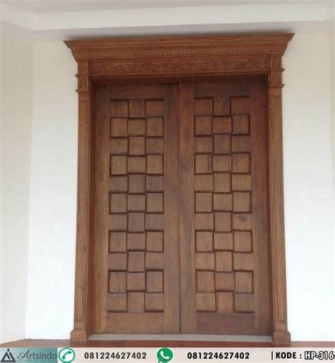 Hp Pintu pintu klasik ukir kayu jati mediteranian hp 316 harga