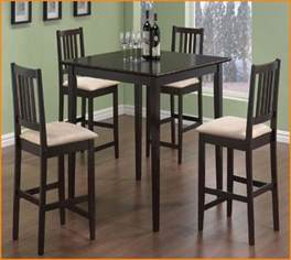 black high top kitchen table and chairs home design ideas