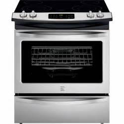 Electric Cooktop Stove Kenmore 42533 4 6 Cu Ft Slide In Electric Range W