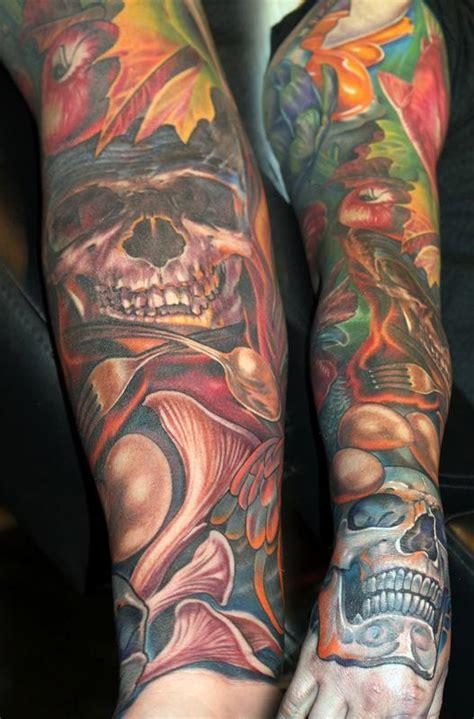 eyeball tattoo killer a chef s sleeve by tony adamson tattoos