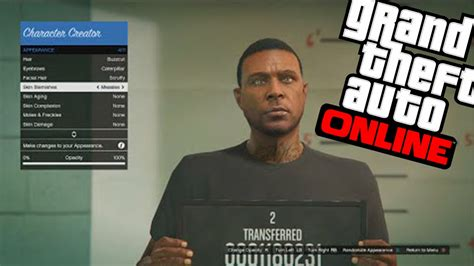 reset gta online character gta 5 online character appearance glitch 1 25 1 26