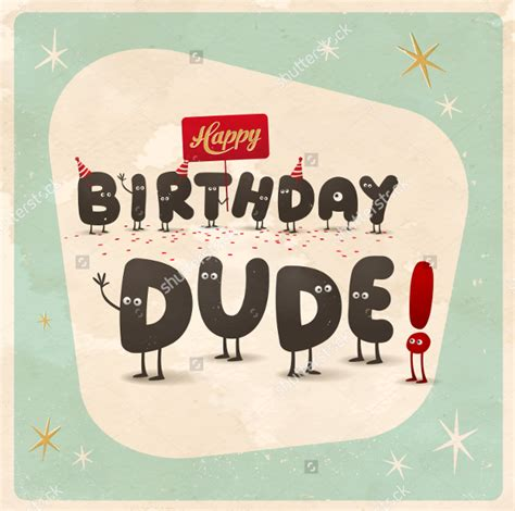 Birthday Card Vintage Template by 19 Happy Birthday Cards Free Psd Illustrator