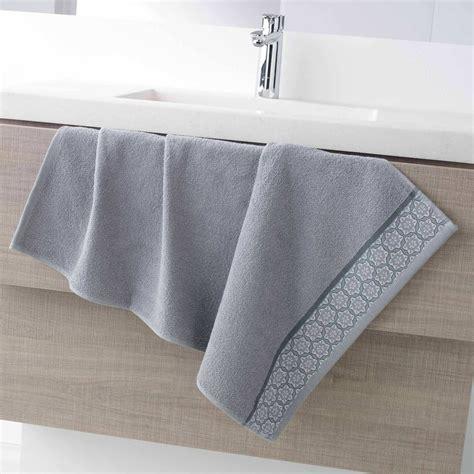 asciugamano da bagno asciugamano da bagno 50 x 90 cm 450 g casa grigio