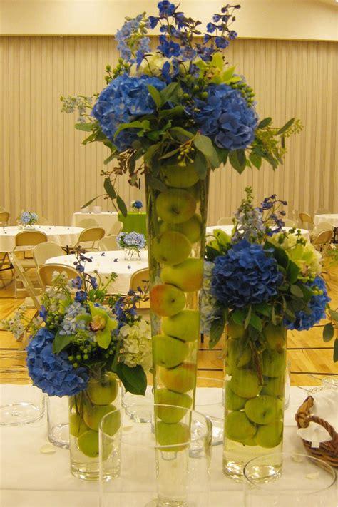 light blue flower arrangements floral arrangements for weddings orange sunflowers