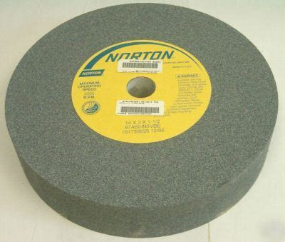 norton bench grinder wheels norton 14 quot x 3 quot x 1 1 2 quot 60 grit bench grinder wheel