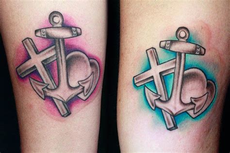 cross heart anchor tattoo tattoos and designs page 142
