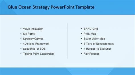 Blue Ocean Strategy Powerpoint Template Slidemodel Blue Strategy Powerpoint