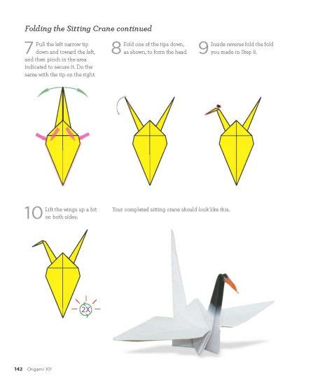 Origami Crane Folding - how to design your own origami paper quarto creates