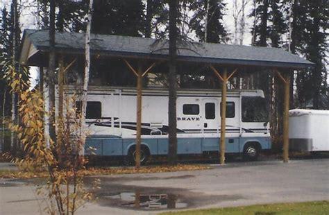 Alaska Shed by Pole Barn Carport In Alaska Great Northern Sheds