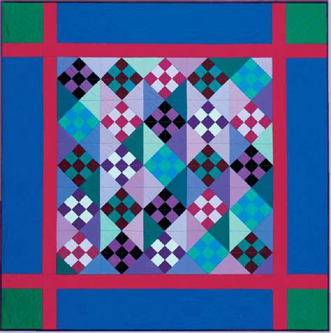 Amish Quilt Patterns Amish Nine Patch Free Pattern Robert Kaufman Fabric Company