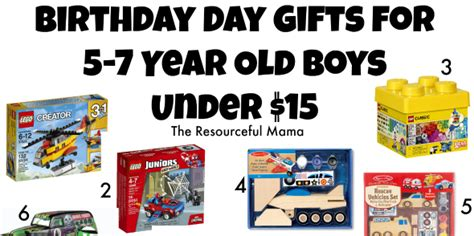 birthday gifts for 5 7 year old boys under 15 the
