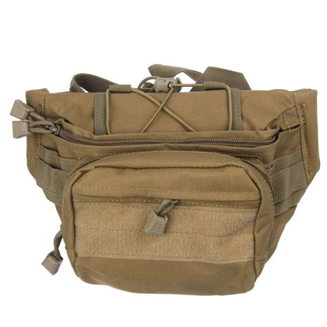 Visval Ryga Navy Hip Pack Waist Sling Bag Tas Pinggang tactical waist pack carry bum bag adjustable outdoor ebay