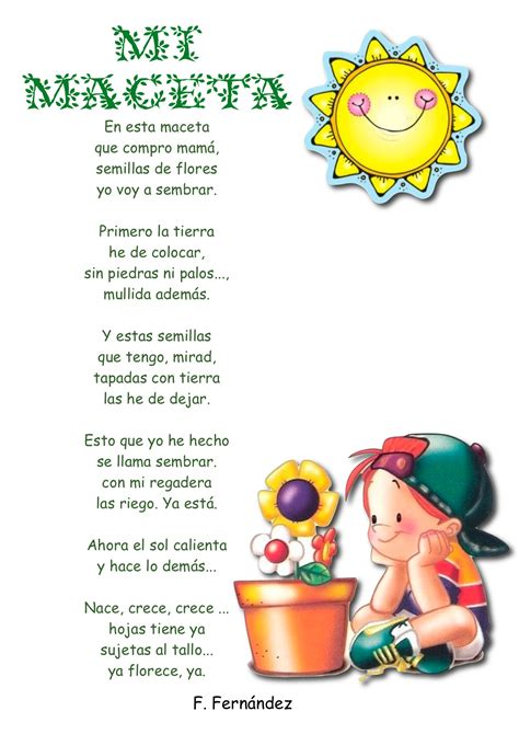 imagenes sensoriales poesia infantil poemas infantiles con imagen imagui