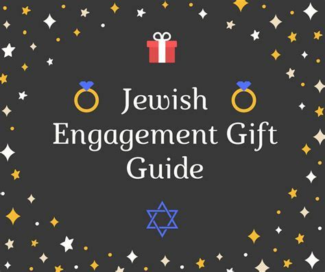 20  Special Jewish Engagement Gifts for a L'Chaim Party