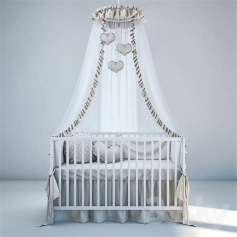 ikea crib bedding 3d models bed baby bedding and bed ikea