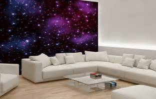 bedroom quot stars on the sky quot wallpaper murals by 10 living room designs with unexpected wall murals decoholic
