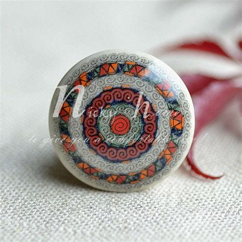 Decorative Wardrobe Knobs 1pc Furniture Porcelain Wardrobe Decorative Dresser Drawer