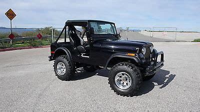 Road Jeep For Sale Jeep Cj Cj5 1974 Jeep Cj 5 V 8 Jeep Cj 4 X 4 Road