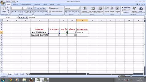 youtube tutorial de excel tutorial de excel promedios youtube
