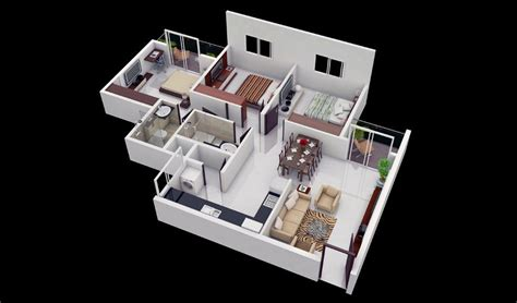 Ideal Homes Floor Plans 25 more 3 bedroom 3d floor plans architecture amp design