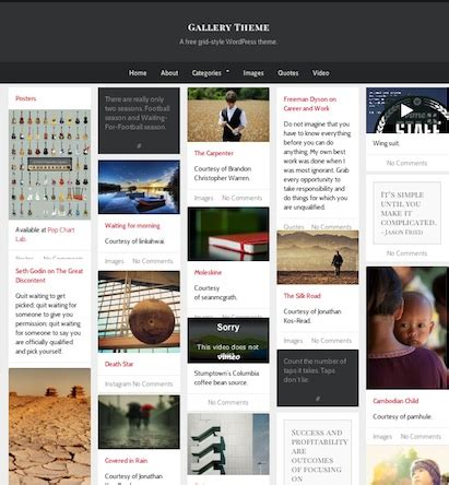 tumblr themes free endless scrolling grid best infinite scroll themes cmsmind