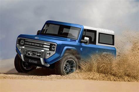 2020 Mini Bronco by Ford Hints At Mini Bronco Motoringuru Au