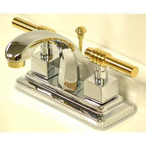 Chrome And Brass Bathroom Fixtures Brass Polished Bathroom Faucets Bellacor