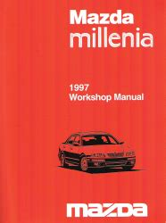 1997 mazda millenia factory workshop manual