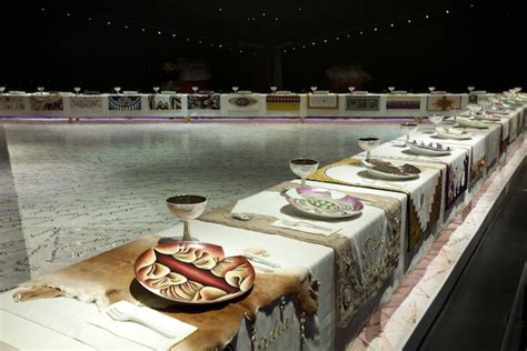 dinner by judy chicago the birth and education of judy chicago