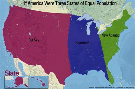 population map of usa united states regional and state political