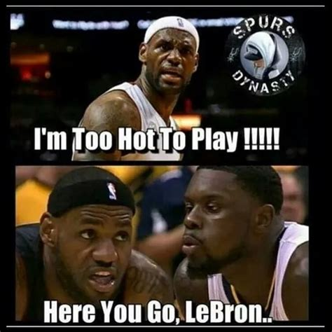 Meme Lebron James - since lebron james is a sore loser here are 18 of his