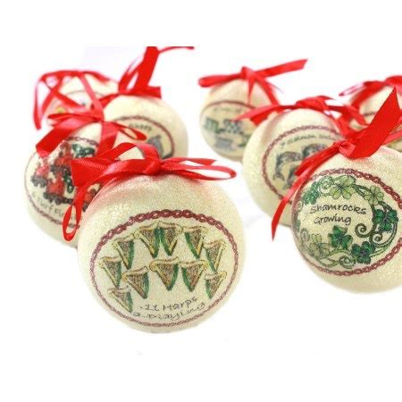 how to make 12 days of christmas ornaments ornaments solvar 12 days of ornament set crossroads