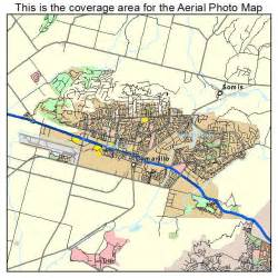 aerial photography map of camarillo ca california