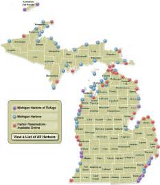 Michigan State Park Map by Dnr Map Of Michigan Harbors