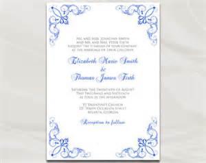 Blue Wedding Invitations Etsy » Home Design 2017