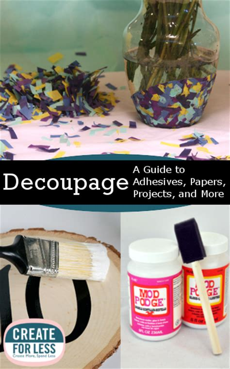 exles of decoupage decoupage methods materials and project ideas