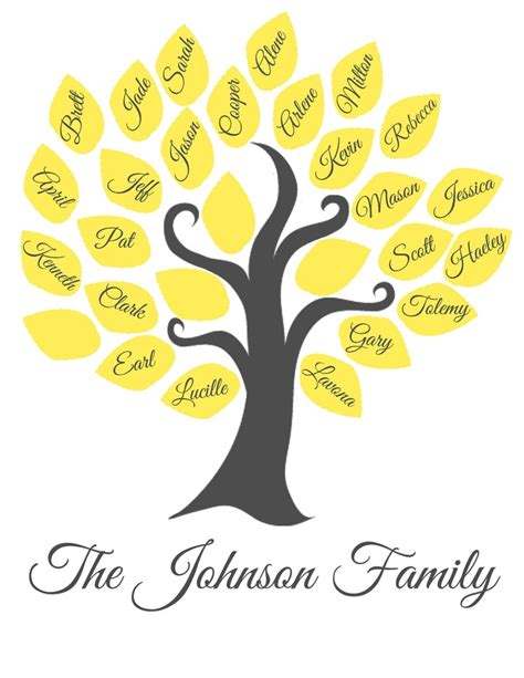 free printable family tree designs family tree printable new calendar template site