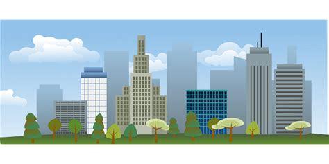city skyline vectors pixabay