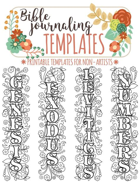 Bible Journaling Templates 1000 images about templates for bible journaling on
