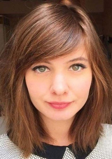 58 stylish medium length haircuts with side bangs for 2018