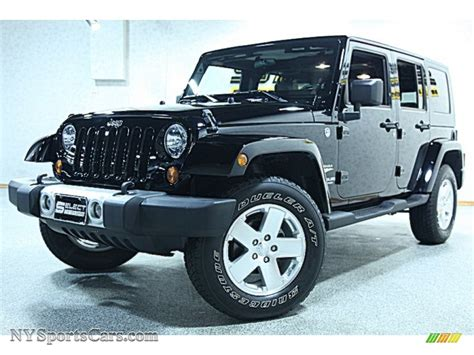 sahara jeep black 2009 jeep wrangler unlimited sahara 4x4 in black 751256