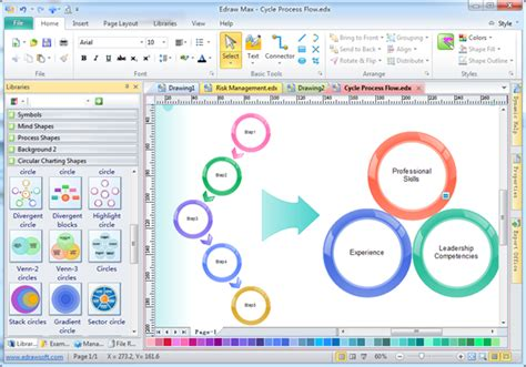 design graphic organizers free easy graphic organizer edraw