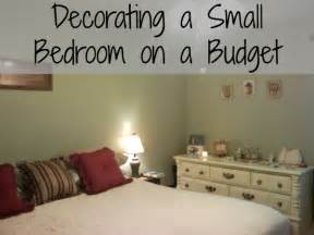 Decorate Home On A Budget Decorating A Small Bedroom On An Even Smaller Budget