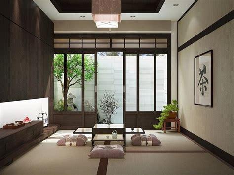 desain ruang tamu lesehan ala jepang interiordesignid