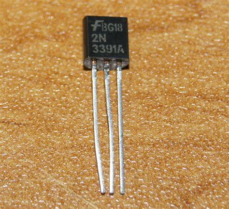 transistor npn gain transistor 2n3391 npn grand gain petits signaux to 92 electronic part neuf ebay