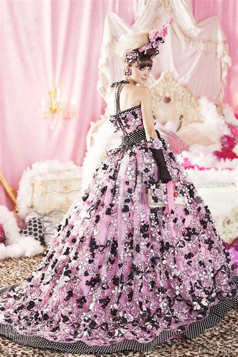 peachy girl pink wedding dresses wedding inspirasi