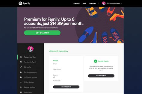 Set Family 2016 New 05 how to add new members to spotify s family plan