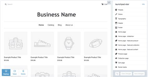 shopify themes settings how to choose a shopify theme that fits your business